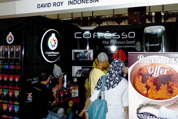 Coffesso Roadshow Event in Yogyakarta