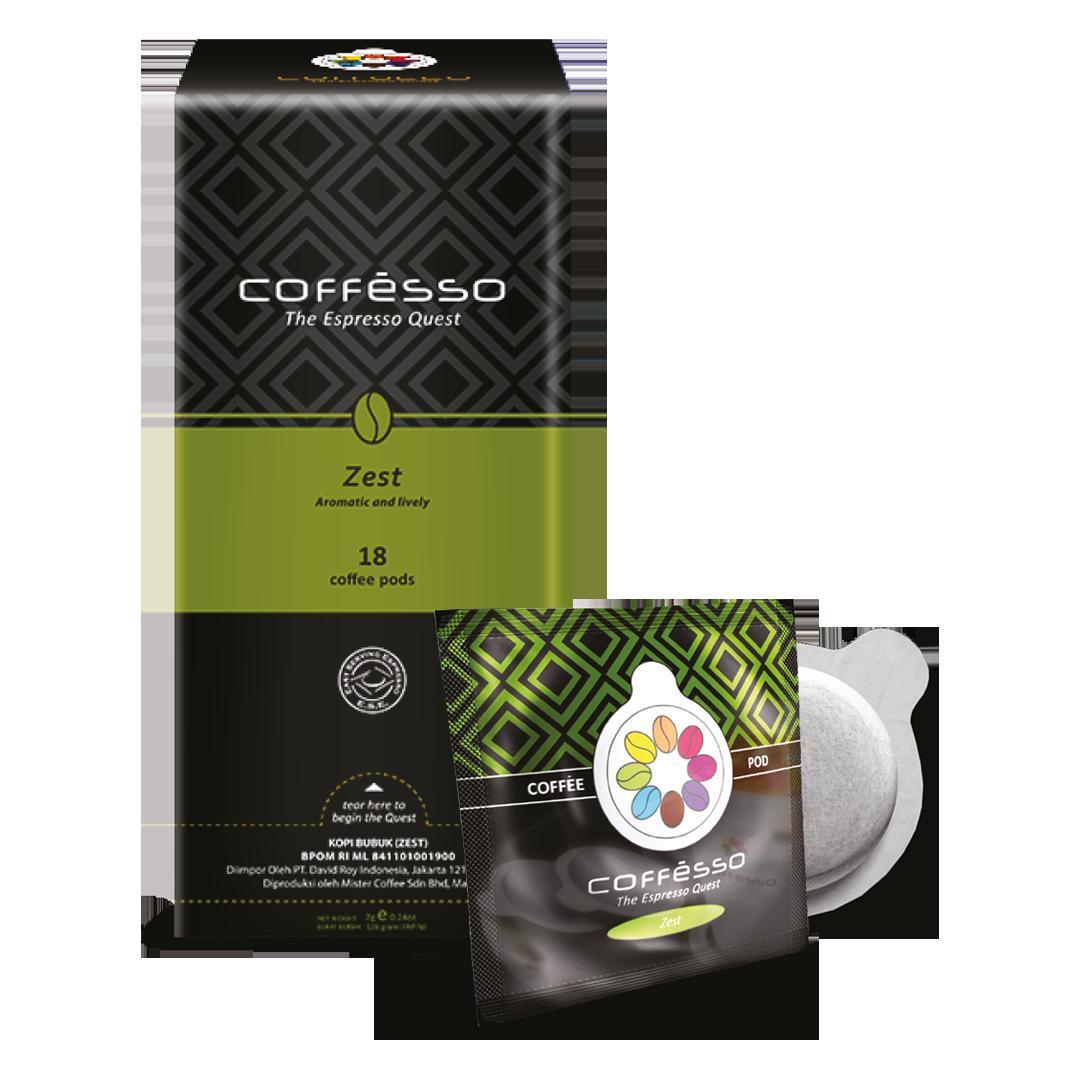 Zest Coffee Pod